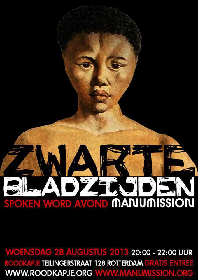 """spoken word: """"Zwarte Bladzijde"""""""
